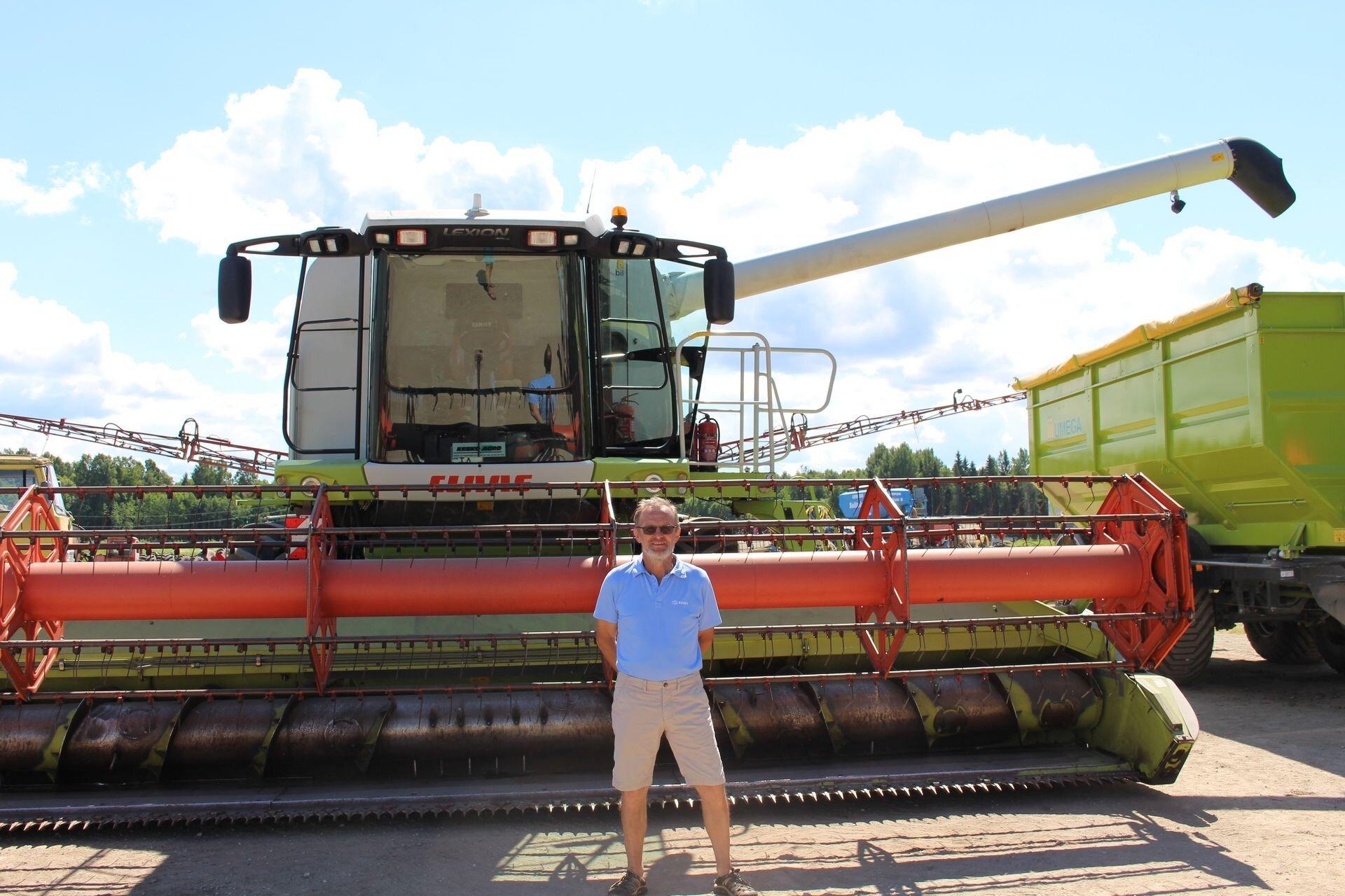 Tiit Jüriöö on tuntud teraviljakasvataja Alaverest